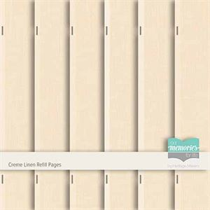 Picture of Creme Linen Refill Pages
